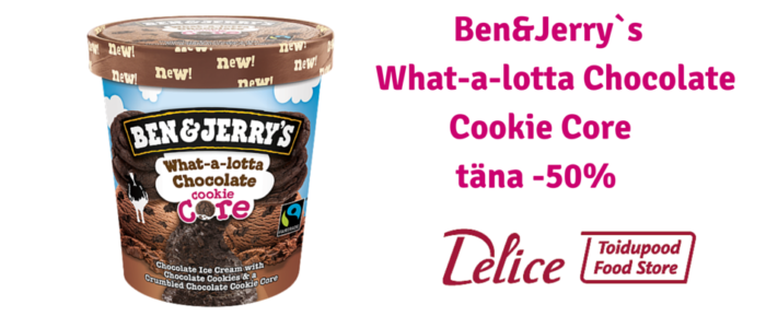 Ben&Jerry`s Whata-a-lotta Chocolate Cookie Core