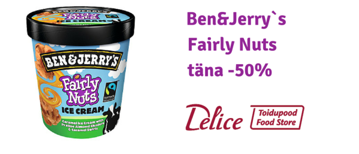 Ben&Jerry`s Fairly Nuts
