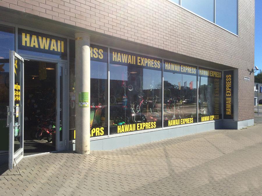 Hawaii Express väljast Viimsi Kaubanduskeskuses