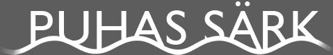 Puhas Särk OÜ keemiline puhastuse logo