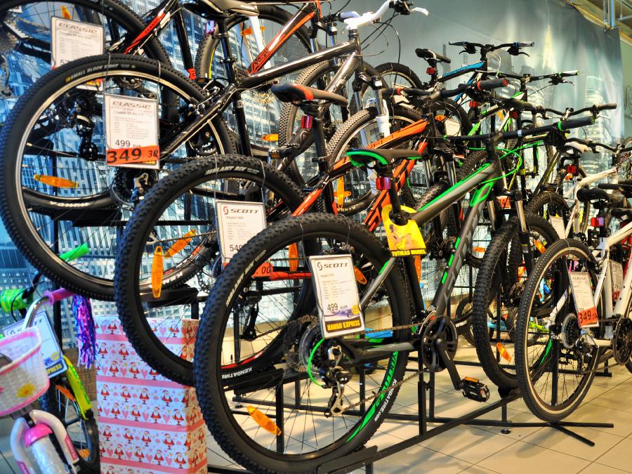 Jalgrattad Hawaii Expressis Viimsi Kaubanduskeskuses