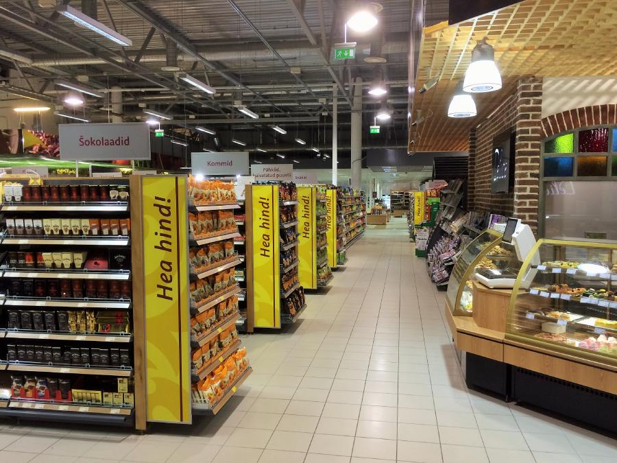 Viimsi Delice Toidupood sisevaade Viimsi Kaubanduskeskuses