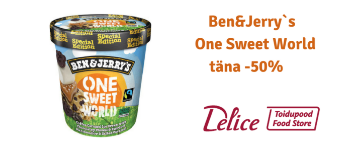 Ben&Jerry`s One Sweet World