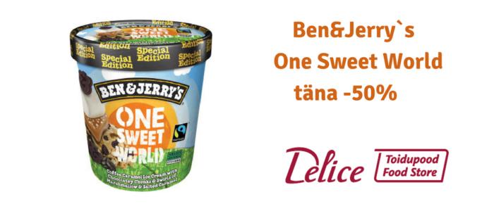 Ben&Jerry`s One Sweet World
