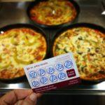 kümnes pitsa tasuta