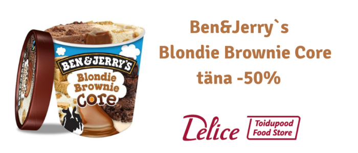 Ben&Jerry`s Blondie Brownie -50%