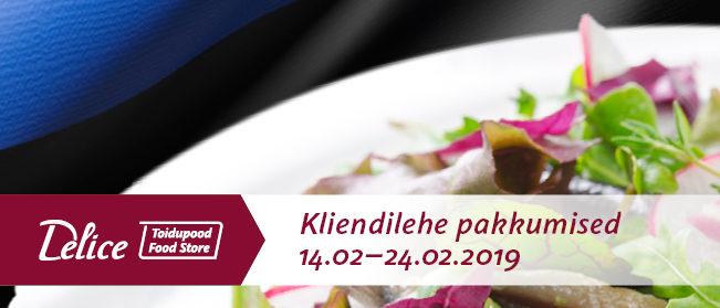 Delice toidupoe pakkumised 14.02-24.02