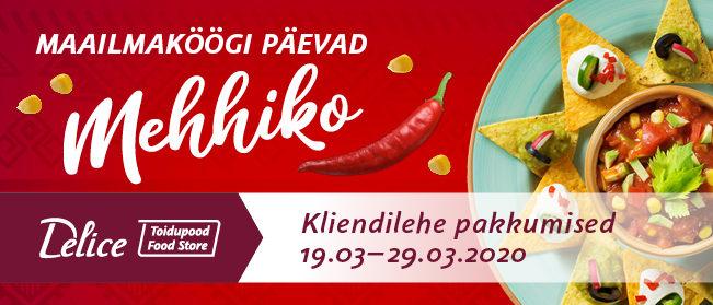 Delice toidupoe kliendilehe pakkumised 19.03-29.03